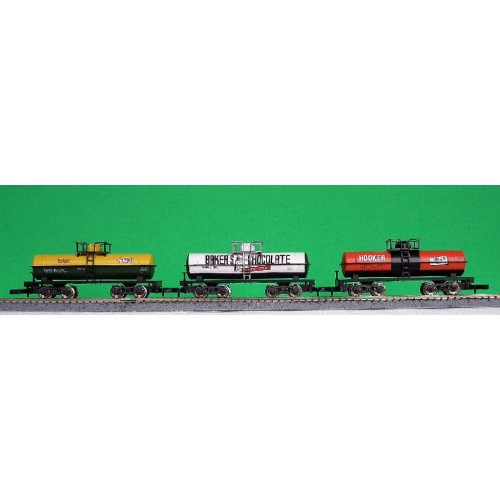 Cool Toy Train Cars : Z marklin set of us tank cars